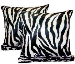 Zebra Print Pillow Set (large)