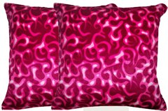 Pink Flames Pillow Set