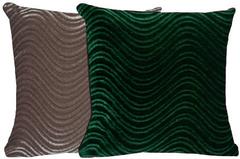 Emerald & Silver Pillow Set