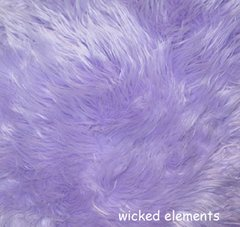 Faux Fur Lilac Fabric