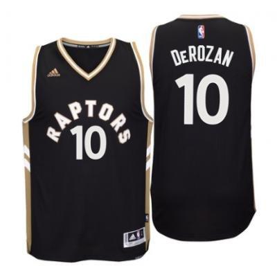 Toronto Raptors Black And Gold Jersey