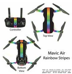 DJI Mavic Air Rainbow Stripes