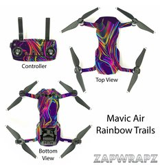 DJI Mavic Air Rainbow Trails