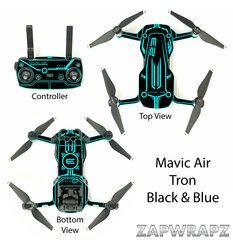 DJI Mavic Air Tron - Black - 9 Colours available