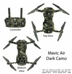 DJI Mavic Air Dark Camo