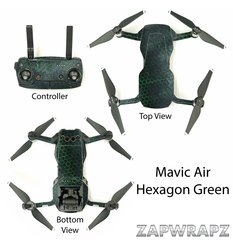 DJI Mavic Air Hexagon Green