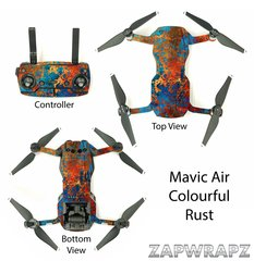 DJI Mavic Air Colourful Rust