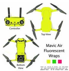 DJI Mavic Air Fluorescent wraps