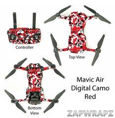 DJI Mavic Air Digital Camo Red