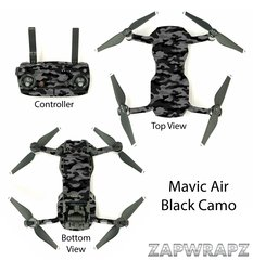 DJI Mavic Air Black Camo