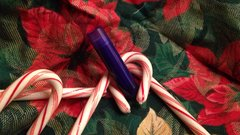 Peppermint Stick Holiday Lip Balm