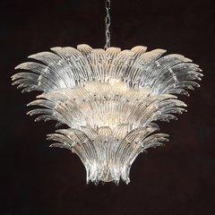 Showgirl Chandelier Venetian Glass Clear