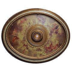 Cherub Ceiling Medallion for Chandelier