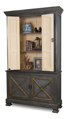 Painted Director Style Cabinet Darker Shade