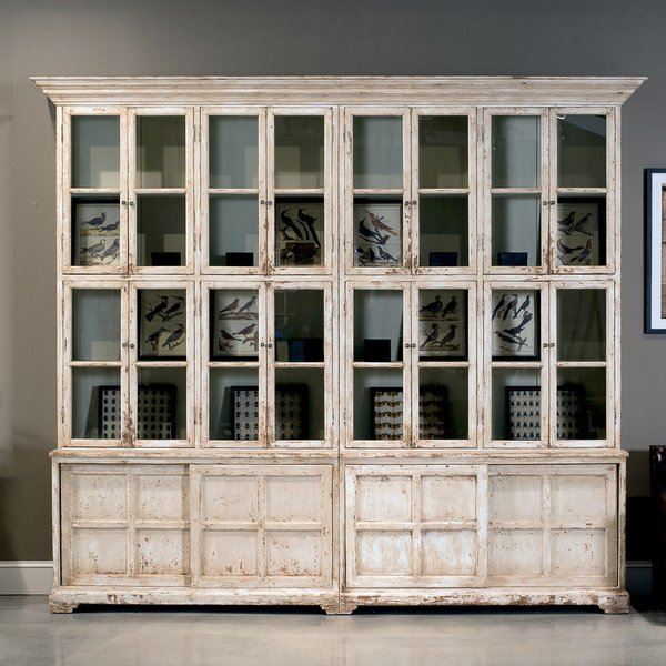 Antique Hutch With Glass Doors Antique Furniture