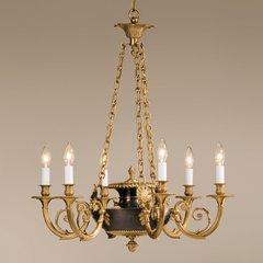 Solid Brass Chandelier Antiqued Bronze