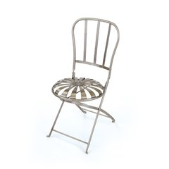 Folding Chair Iron Outdoor Seating