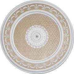 Garland Ceiling Medallion Round Antique White