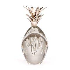 Silver Pineapple Sculpture in Nickel