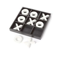 Tic Tac Toe Game Board Wooden Painted