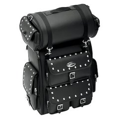 063B Saddlemen Studded 2-Piece Luggage Set - Great for Sissy Bars!