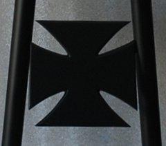 """070b3. Maltese Cross - 3-1/2"""""""