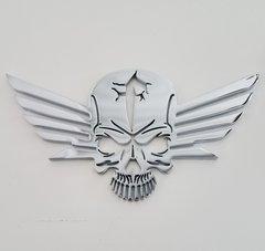 """071a1 - 5"""" Skull-Wing Emblem"""