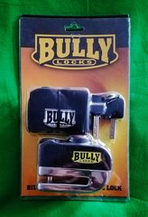 101a1. Bully Locks Billet Steel Alarm Disc Lock