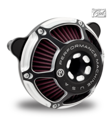 100a3. Performance Machine Max HP Air Cleaner for HD EVO, Twin Cam, Milwaukee-Eight & Sportster & Indian Chieftain, Chieftain Dark Horse & Springfield