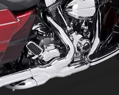 110c2.  Vance & Hines Power Duals Head Pipes for HD Touring