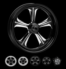 160a6.  Performance Machine - Wrath Front Wheels for Harley Davidson