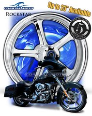 161y.  Coastal Moto Rockstar Front Wheel Package for Harley Davidson