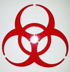"""070d1. 5"""" Biohazard"""