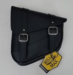 063B1. Willie & Max Swing Arm Bag - black (left side)