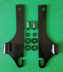 031d. Rigid Lo-Pro Mount Kit for 2006-later HD Dyna Super Glide & 2010-later Dyna Wide Glide