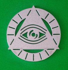 """070a7. Eye of Providence - 3-1/2"""""""