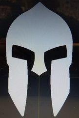 """070c5. NEW!! Spartan Warrior Helmet - 3-1/2"""""""