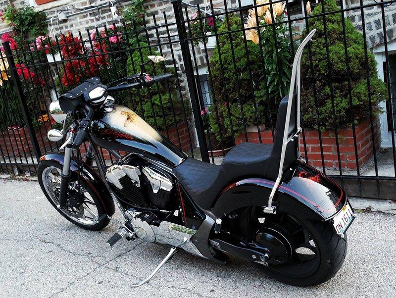 Honda Amp Yamaha Pics Ginz Choppers