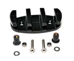Zig Zag Cleat with Marine Grade Stainless Steel Fixings & Well Nuts
