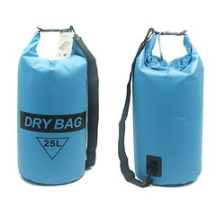 H2o Blue Heavy Duty 25 L Dry Bag With Strap
