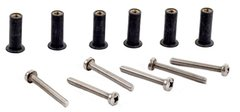 H2o M5 Neoprene Well Nut Inc A4 Stainless Steel Pozi Screw (Pack 6) Long Type (D)