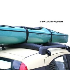 Ruk Sport Self Inflating Roof Rack (2 Pads)