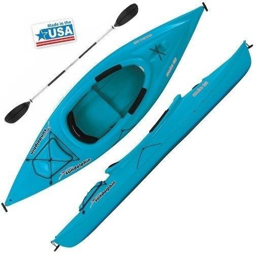 Sun dolphin ocean blue aruba 10 deluxe kayak h2o kayaks for Sun dolphin fishing kayak accessories