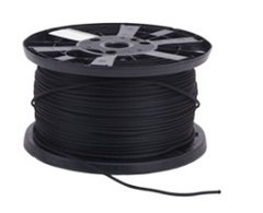 Black Monoflex ™ Shock Cord 5 mm (per 2 m)