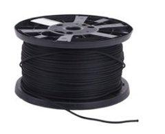 BLACK Monoflex ™ Shock Cord 6 mm 100 m Reel
