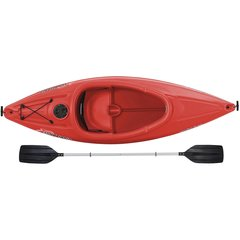 Sun Dolphin ® Aruba SS Sit-in Kayak Red Free Paddle