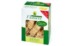 Flammers Natural firelighters Pack 24