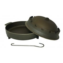Gorenc Bell BBQ, Cast Iron Dutch Oven 37cm