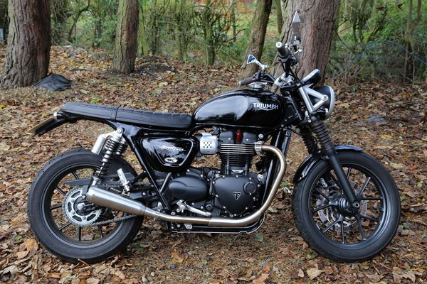 street twin/street cup slip-on stainless silencers/mufflers | tec