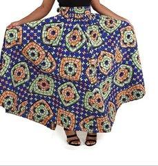 African Print Long Skirt -76